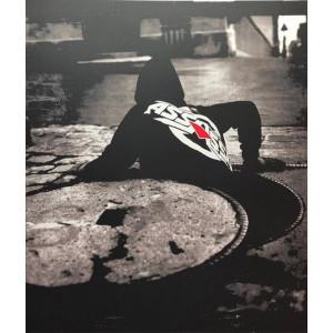 LA LITHOGRAPHIE Rouge- Chronique d'une FORMULE annoncée ROCKIN' SQUAT